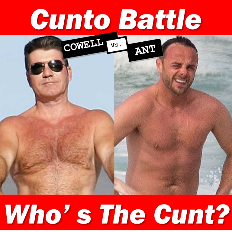 Simon Cowell Ant McPartlin Cunt Battle