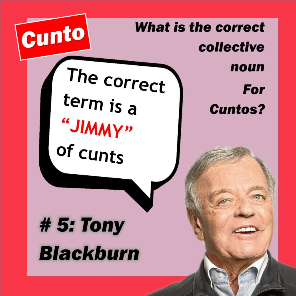 Tony Blackburn collective Cunto