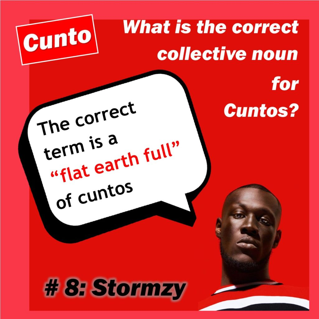 stormzy collective cunt noun