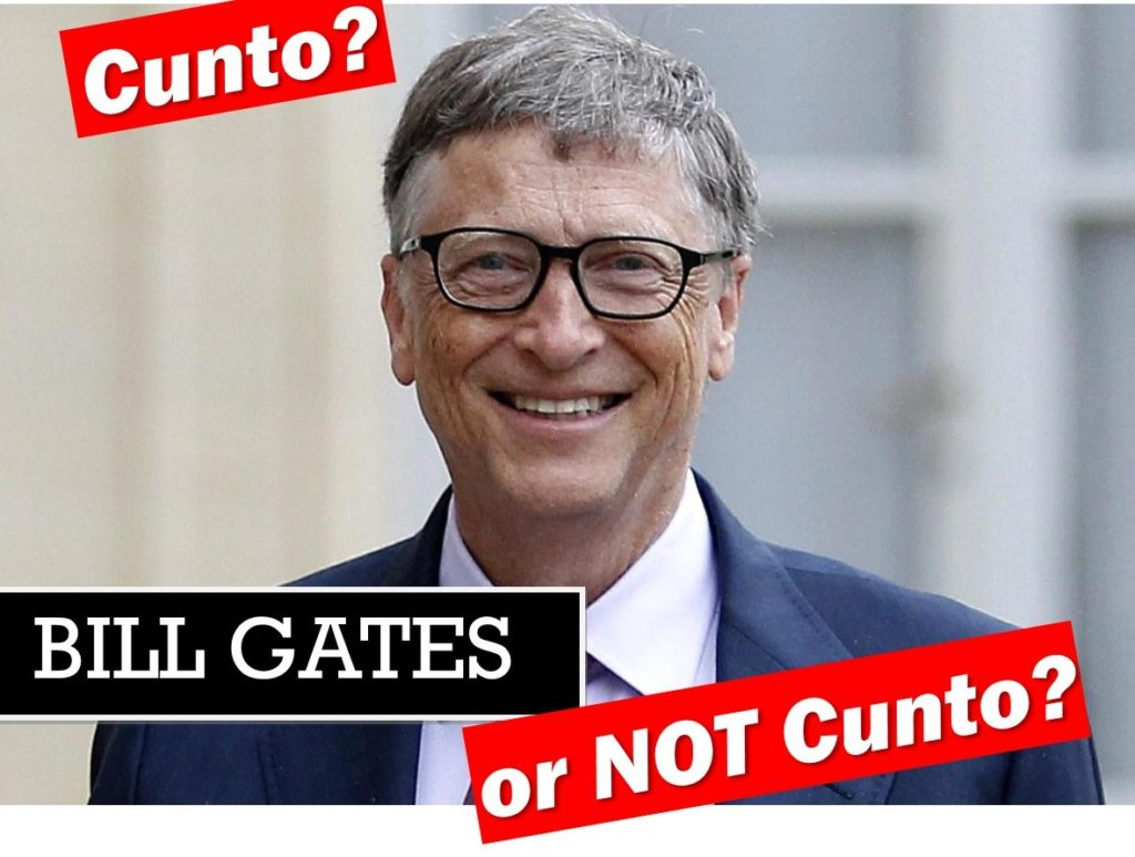 Bill Gates cunt or not cunt