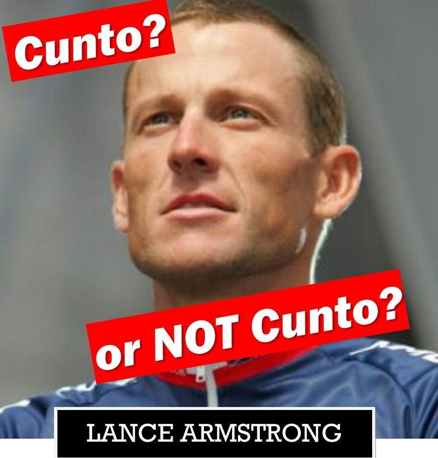 LAnce Armstrong - cunto or not cunto