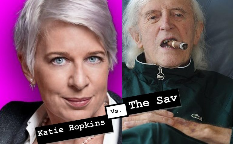 Katie Hopkins v Jimmy Savile