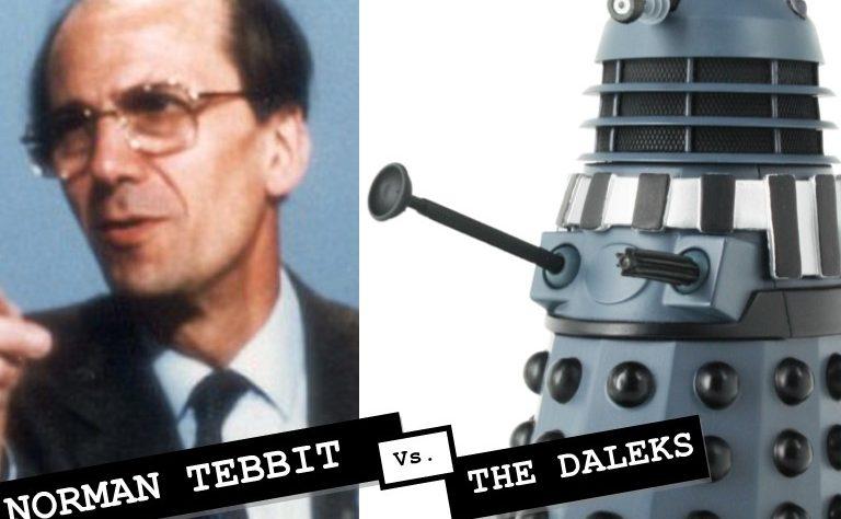 Norman Tebbit and a Dalek
