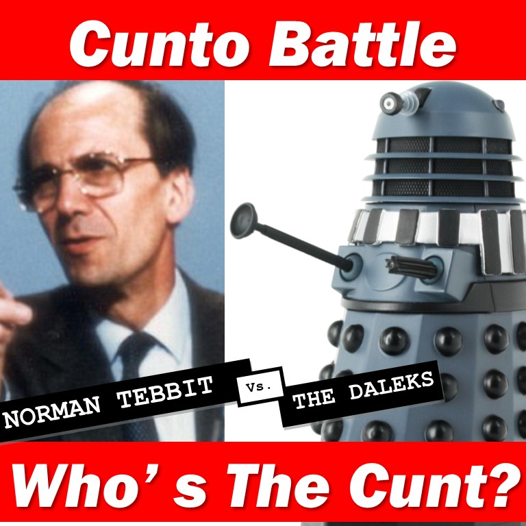 Norman Tebbit and a Dalek