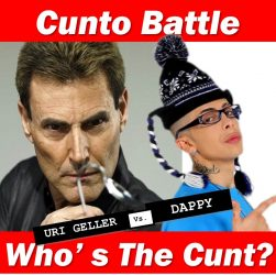 Uri Geller and Dappy Cunto battle