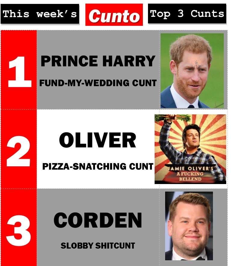 Wales, Corden, Oliver. Mega Cunts