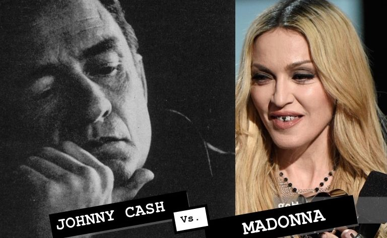 Cash v Madge. Who's the cunt