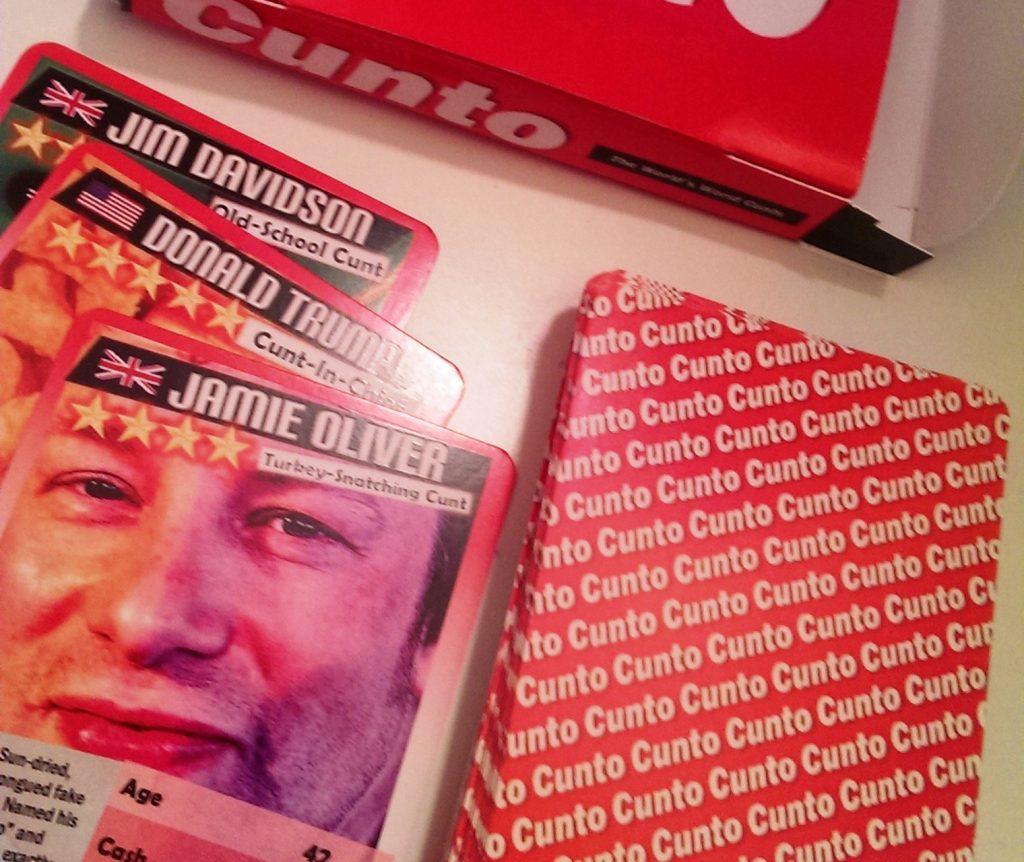 Jamie Oliver in Cunto cards