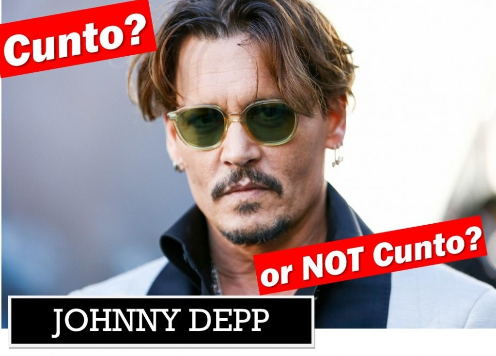 Johnny Depp being judged Cunto or Not Cunto