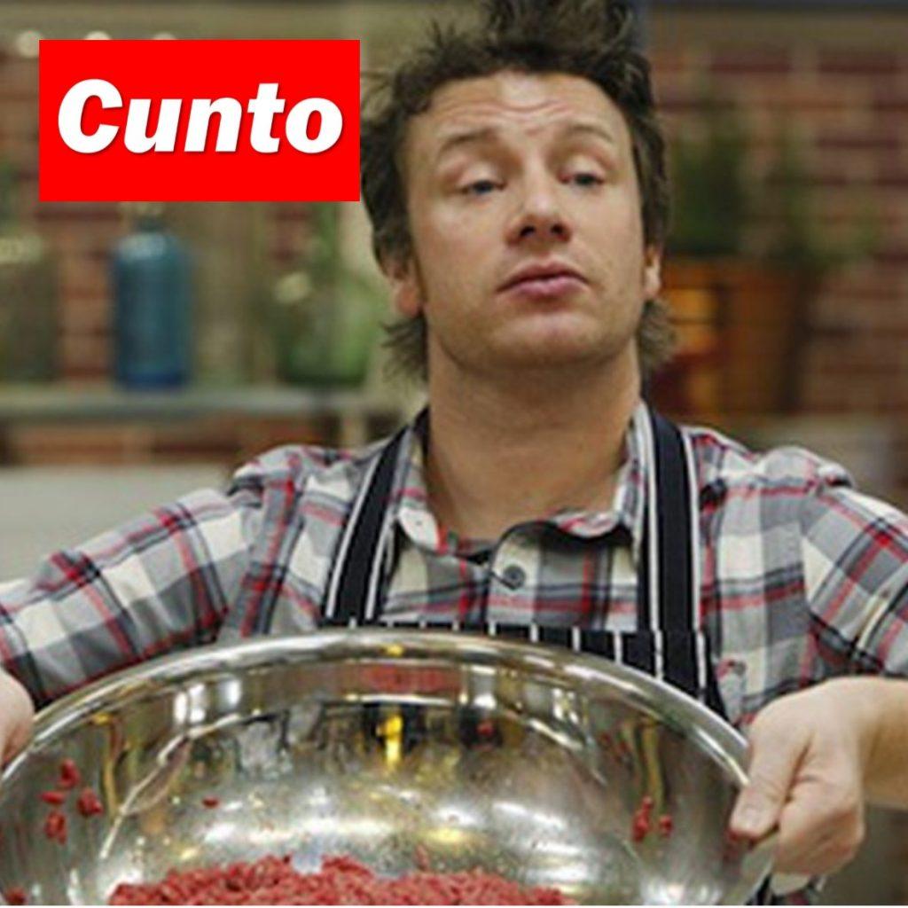 Jamie Oliver Cunto