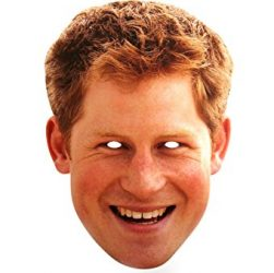 Prince Harry mask face