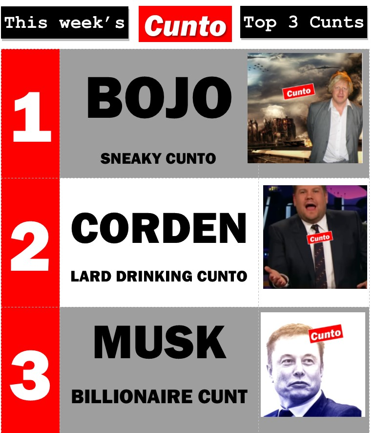 Cunto Top 3 of the Week