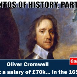 Oliver Cromwell and his wedge