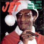 Bill Cosby as Santa Claus - Jet Magazine