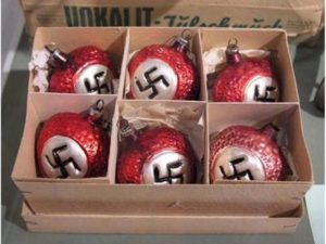 Nazi christmas baubles