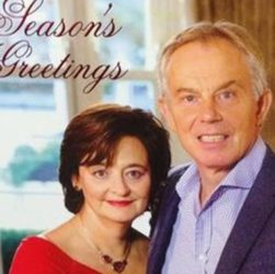 Tony Blair Christmas Death Stare