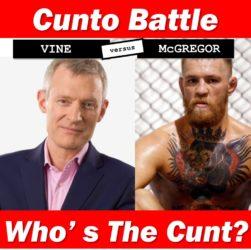 vine mcgregor cunt battle