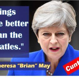 Theresa May likes Wings
