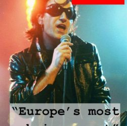 Bono - Europe's Most Obvious Cunt