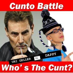 Uri Geller and Dappy Cunto battle