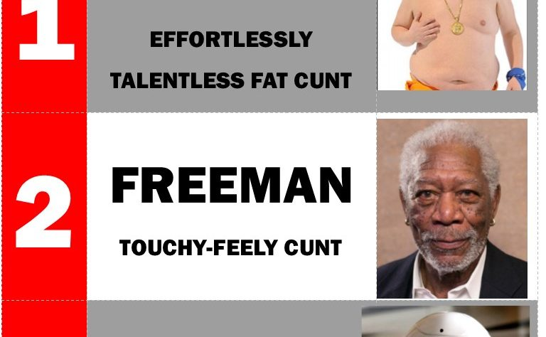 Three terrible cunts