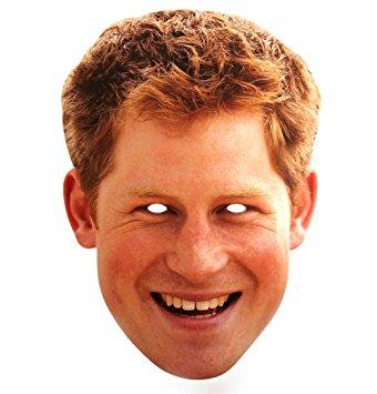 Prince Harry mask face