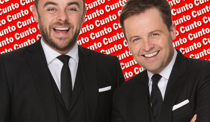 ant and dec are cunts