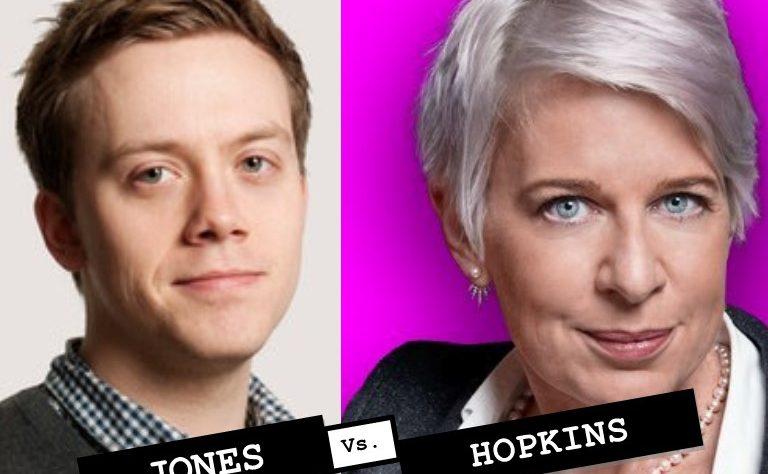 Owen Jones v Katie Hopkins Cunt poll