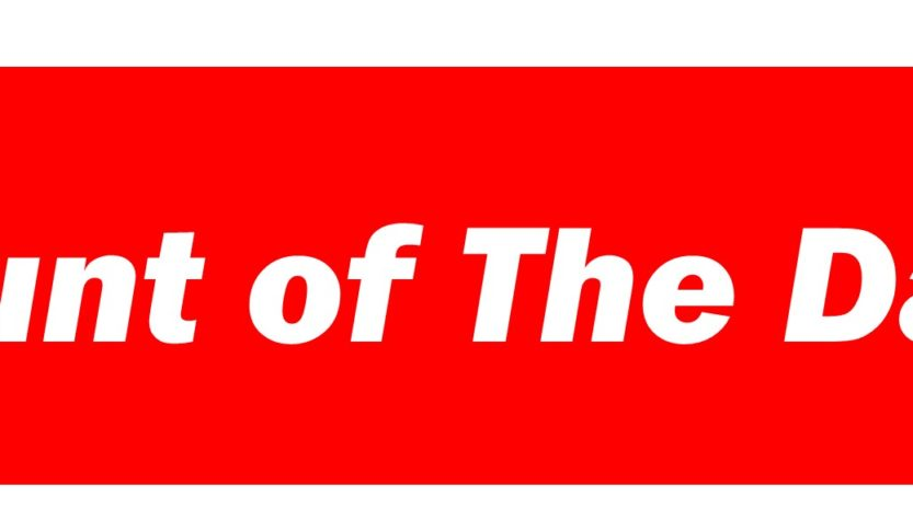 cunt of the day banner