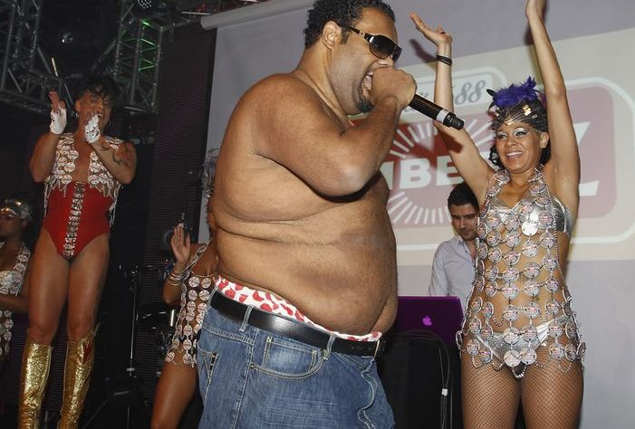 The accurately-named rapper, Fatman Scoop
